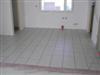 Kitchen floor laid.