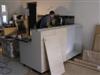Kitchen bar, bench top being installed