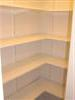 The shelves are bare!