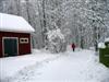Walking in a winter wonderland :-)